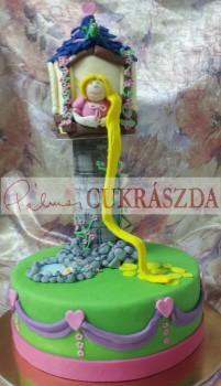 20 szeletes Aranyhaj torta