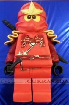Lego ninjago piros. Rendelhető legkisebb méret 15 szeletes