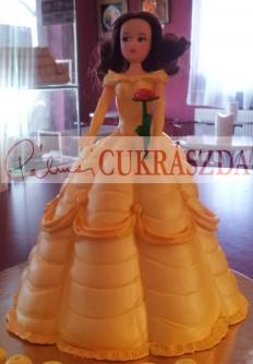 Szépség és a Szörnyeteg/Belle hercegnő Rendelhető legkisebb méret 15 szeletes