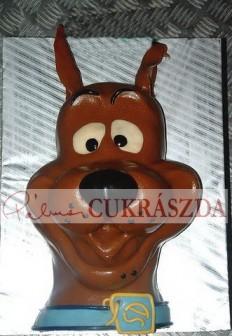Scooby fej Rendelhető legkisebb méret 15 szeletes