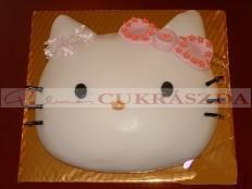 Hello Kitty fej. Rendelhető legkisebb méret 15 szeletes