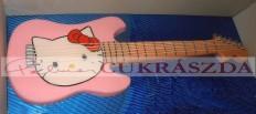 Hello Kitty gitár  Rendelhető legkisebb méret 15 szeletes