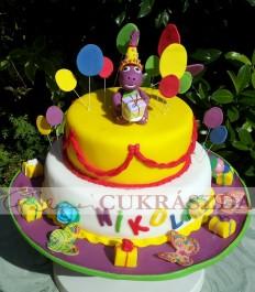 Barney torta