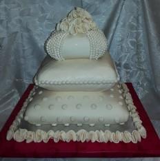 60 szeletes ekrű torta