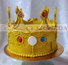 15 szeletes hercegnő korona