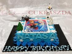 Szögletes 16 szeletes torta, kisebb méretben nem rendelhető