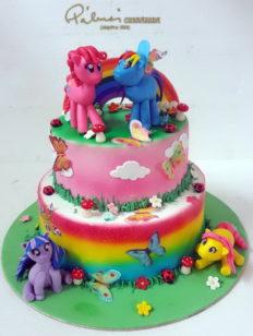 Legkisebb rendelhető méret 25 szeletes, de kérhető a torta egyik szintje is