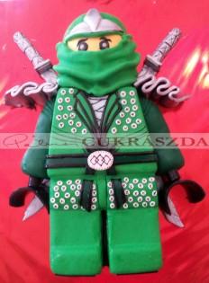 Lego ninjago zöld. Rendelhető legkisebb méret 15 szelet