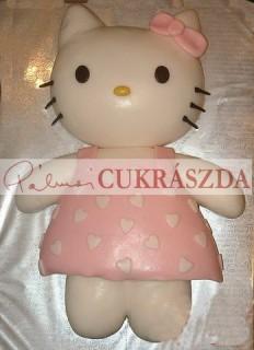 Hello Kitty figura. Rendelhető legkisebb méret 15 szeletes