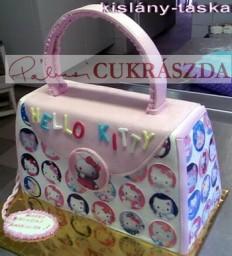Hello Kitty táska. Rendelhető legkisebb méret 15 szeletes