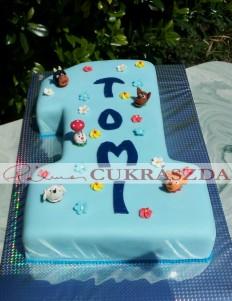 1 éves szülinapi torta