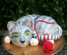 15 szeletes cica torta