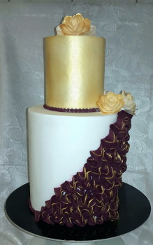 45 szeletes torta