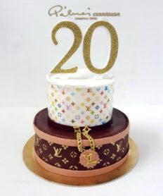 20 éves születésnapi köszöntők Alkalmi torták › Képgalériák › Pálmai Cukrászda ‹ Édes élet minden  20 éves születésnapi köszöntők