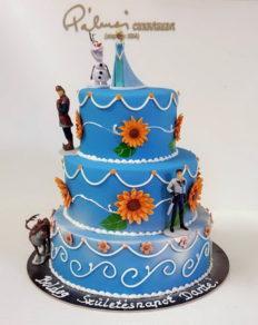 40 szeletes torta, de kérhető kevesebb szint is