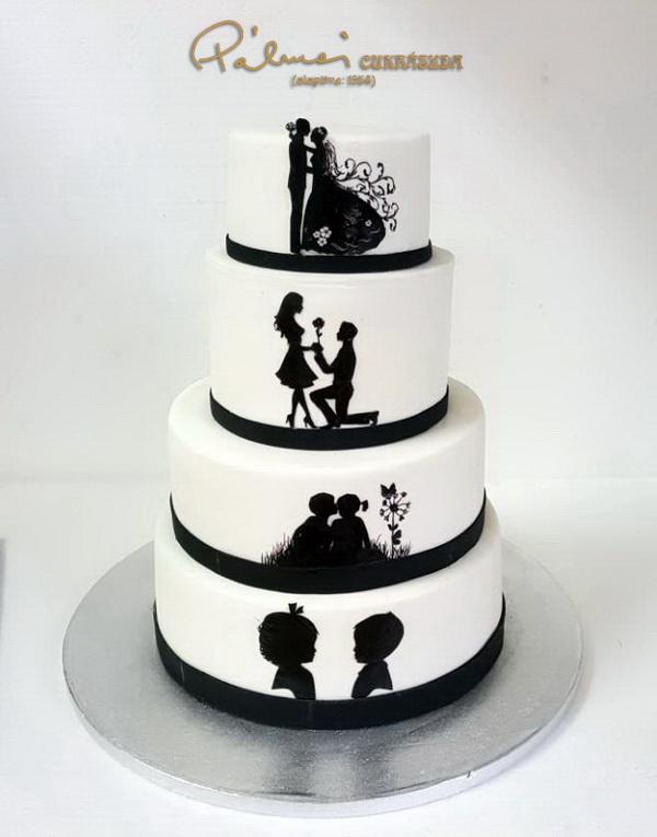 e0532b2c39 Esküvői torták › Képgalériák › Pálmai Cukrászda ‹ Édes élet minden ...