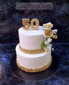 30 szeletes alkalmi torta