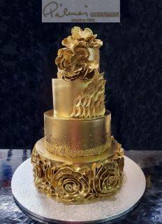 80 szeletes torta